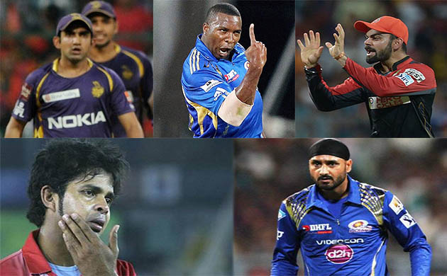 IPL 2018: Top five ugliest fights in history