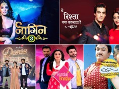 BARC TRP ratings week 34 2018 Naagin 3 rules the Standings Naagin 3 Yeh Rishta Kya Kehlata Hai Dance Deewane Kundali Bhagya Taarak Mehta Ka Ooltah Chashmah