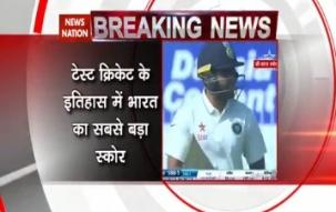 India vs England Chennai Test: India scores its highest ever Test total, Karun Nair hits triple century